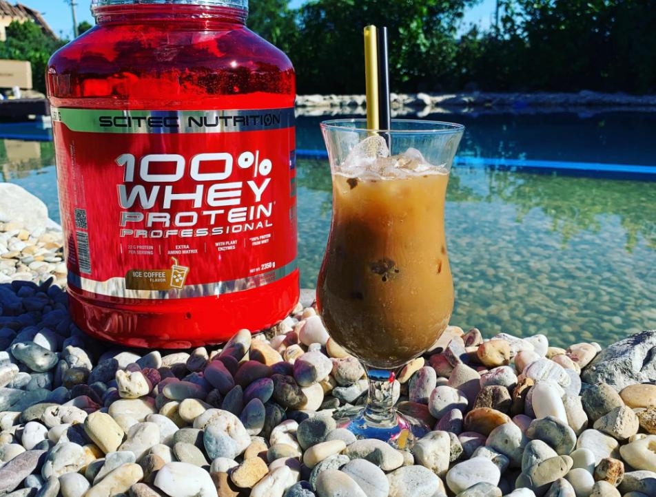 Už jste někdy ochutnali 100% Whey Protein Professional v příchuti ledová káva?
