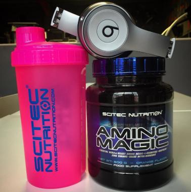 Amino Magic namíchaný, hudba připravena, jde se trénovat! :)