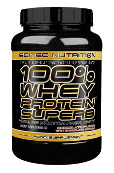 100% WHEY PROTEIN SUPERB 900G