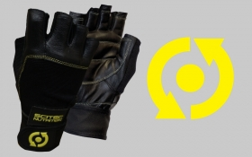 Rukavice - Yellow Leather Style -20% SLEVA