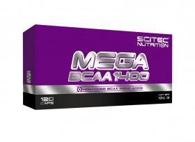 MEGA BCAA 1400 - 120 KAPSLÍ -20% SLEVA