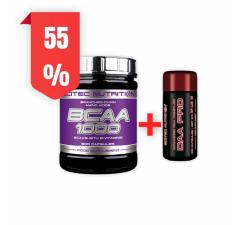 BCAA 1000 - 300 KAPSLÍ + DAA Pro Black Edition 100 kapslí