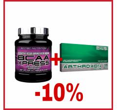 BCAA XPRESS 700G +ARTHROXON PLUS 108 KAPSÚL -10% SLEVA