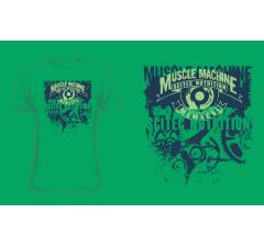 Muscle Machine Green